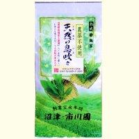 有機栽培茶使用の茶  「天然の息吹き」 100g 袋入り  静岡茶 農薬不使用の茶 3個までメール便配送可能